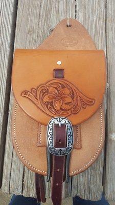 Saddle bag with pliers