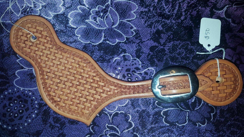 Basket stamp spur straps