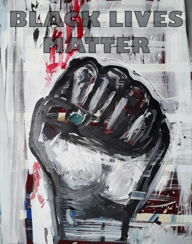 "Black Lives Matter Print - 11"" x 14"""