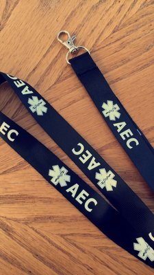 AEC Lanyard (ID Holder)