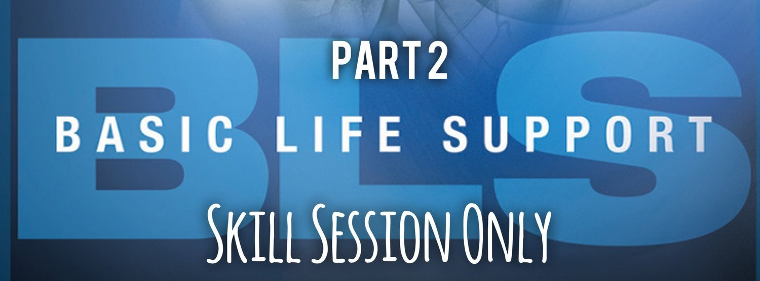 Part 2: BLS Skills Session