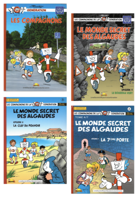 Pack Stopi - les 4 tomes