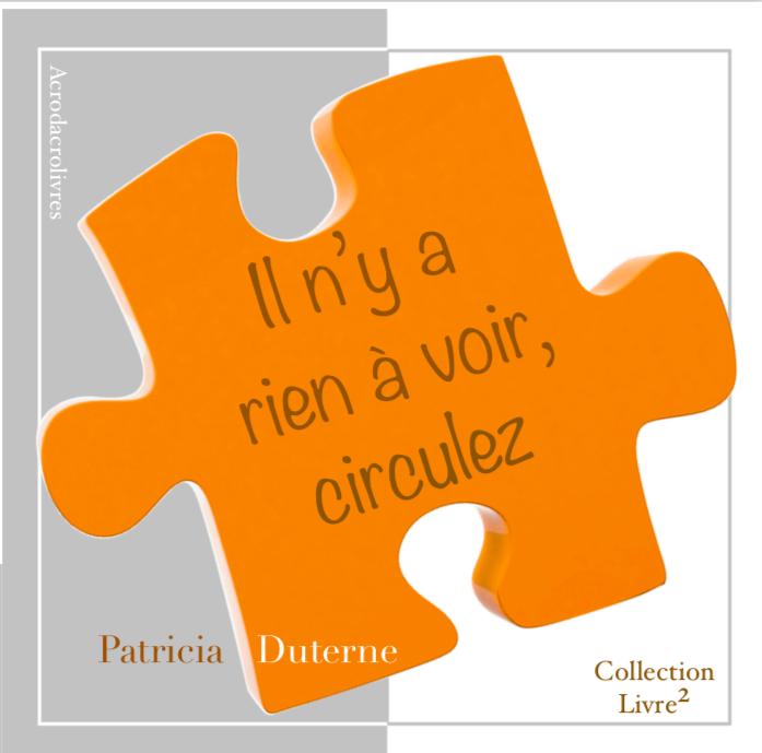 Collection Carré_Il n'y a rien à voir, circulez_Patricia Duterne