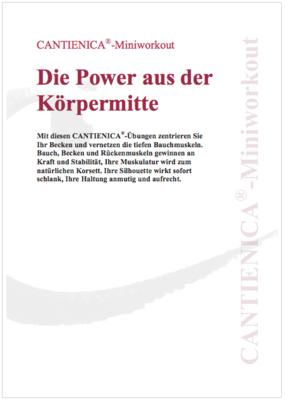 Die Power aus der Körpermitte (PDF)