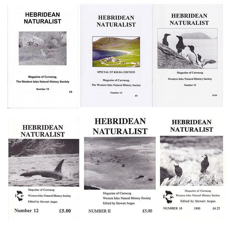 Hebridean Naturalist - Back Issues