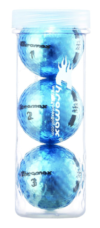 Chromax® Blue - Metallic M5 3 Ball Tube