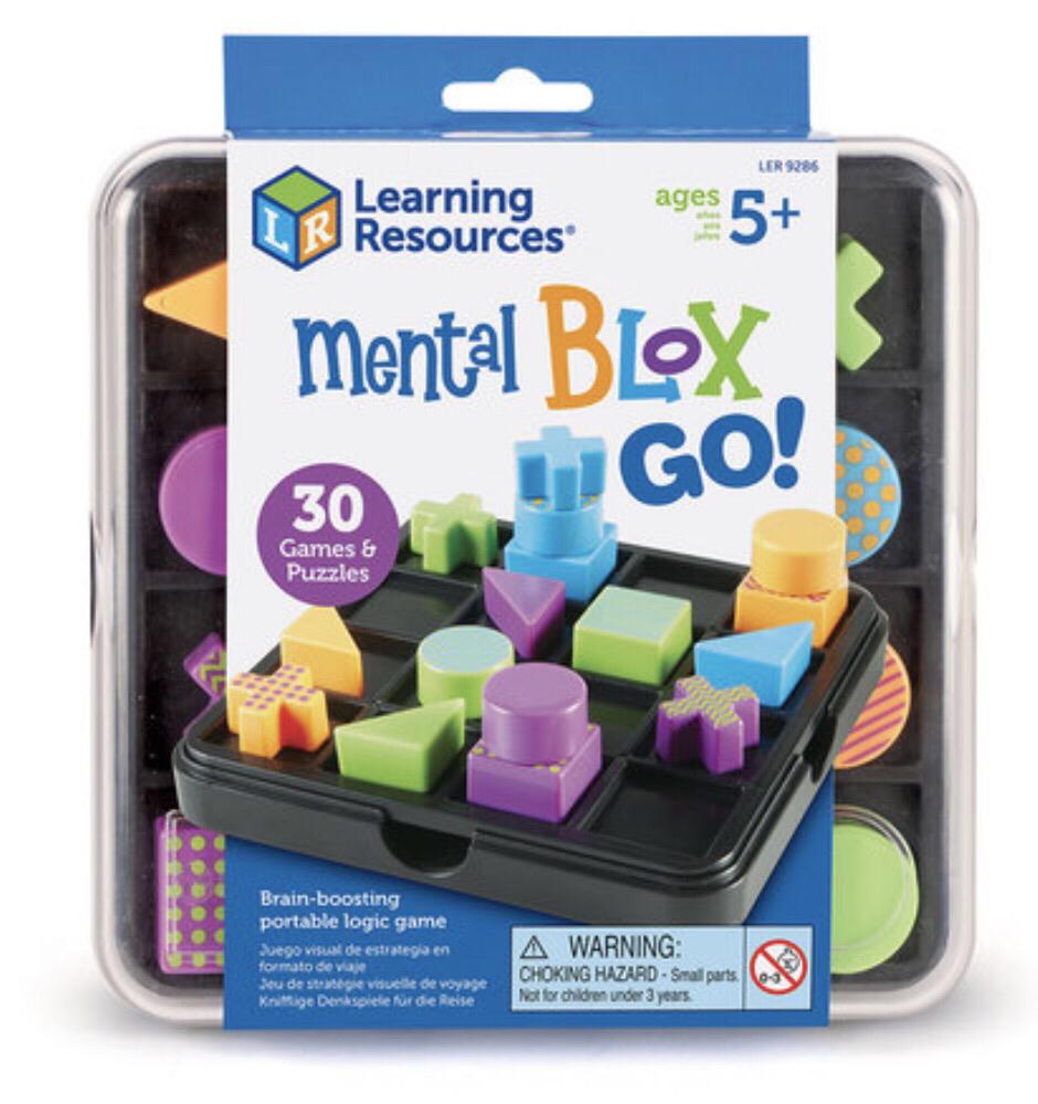 """Развивающая игра """"Ментал блокс"""" Дорожный набор . LER9286"""