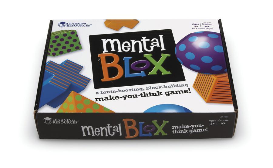 """Развивающая игра """"Ментал блокс""""."""