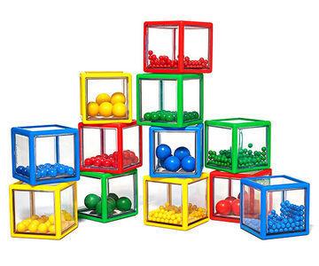 """Развивающая игра """"Сенсорные кубики"""""""