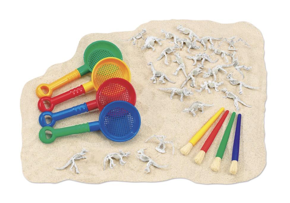 """Набор для стола с песком """"Дино-Диг .Раскопки динозавров """" RE111"""
