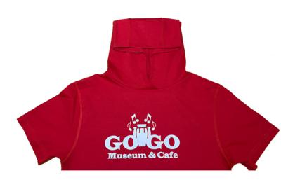 GoGo Museum Red Hoodie tee