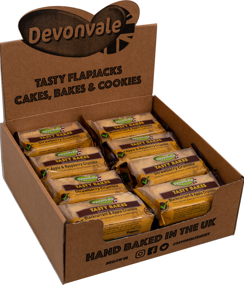 Devonvale Tasty Bakes Mixed Crumble Slices
