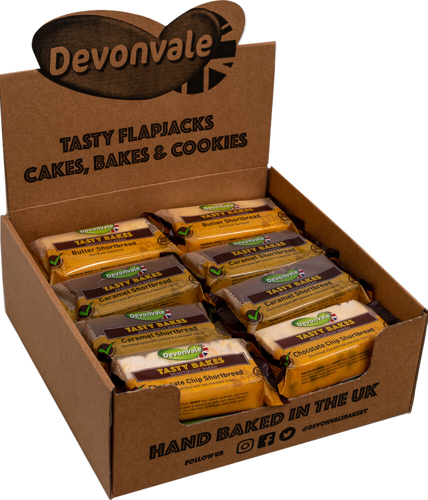 Devonvale Tasty Bakes Mixed Shortbread Slices