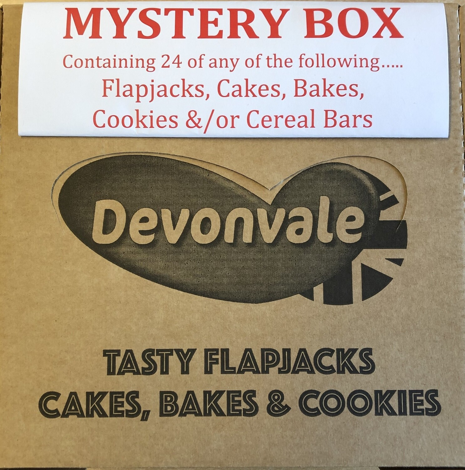 NEW! Mystery Box of Devonvale Flapjacks, Cakes, Bakes, Cookies &/or Cereal Bars