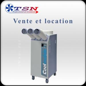 Location et vente Climatiseur professionnel Coolmobile 25 / PRO70