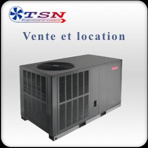 Location et vente Climatiseur professionnel PRO160 grand volume