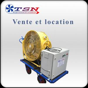 Brumisateur mobile industriel CLK25