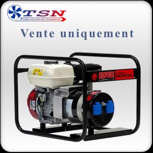 Groupe électrogène moteur Honda Essence 3 KVA 230V