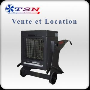 Vente et location chauffage électrique TBD18 Traitement thermique des nuisibles et puces de lit