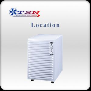 Location déshumidificateur avec réservoir WOODS ED36 max 21L/24H - 345 m3/h