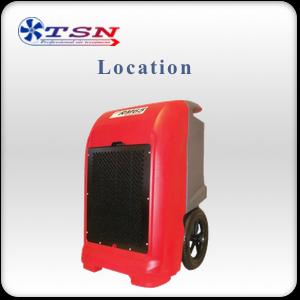 Location déshumidificateur professionnel EBAC RM65 avec pompe max. 65L/24H - 400 m3/h
