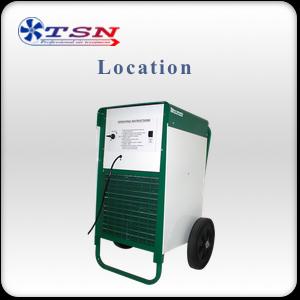 Location déshumidificateur professionnel EBAC BD150/ MK11 sans réservoir max 81 L/24H - 510 m3/h