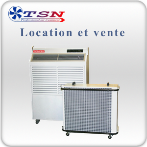 Location et vente Climatiseur professionnel Split Coolmobile 510