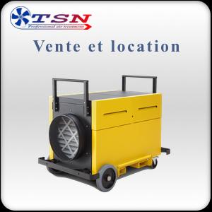 Location et vente Caisson filtrant HEPA purificateur TAC6500