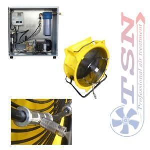 Station de brumisation CLIMEXT PRO CLK 12 avec ventilateur TTV7