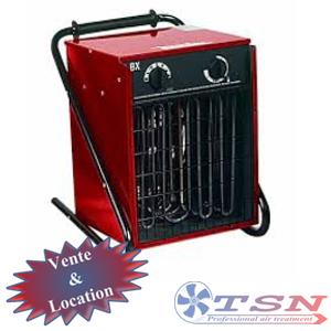 Aérotherme électrique BX15 380/3 15 KW avec thermostat