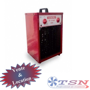 Aérotherme électrique U3.3 220/1 3,3KW avec thermostat