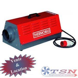 Canon électrique VTB9000 380/3 9Kw avec thermostat