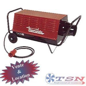 Canon électrique VTB15000 380/3 15KW avec thermostat