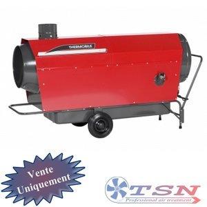 Canons à chaleur au mazout THERMOBILE ITA75 avec cheminée