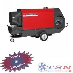 Générateur air chaud au mazout THERMOBILE IMA200 Radial Haute pression 380/3
