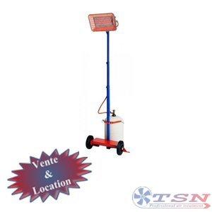 Radian gaz de type gaufrette GT18 simple