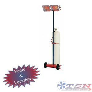 Radian gaz de type gaufrette GT28 double