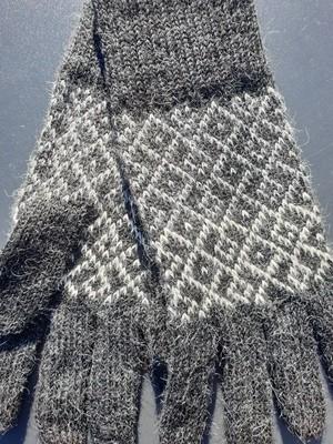 Gloves - Andean Grey/Cream