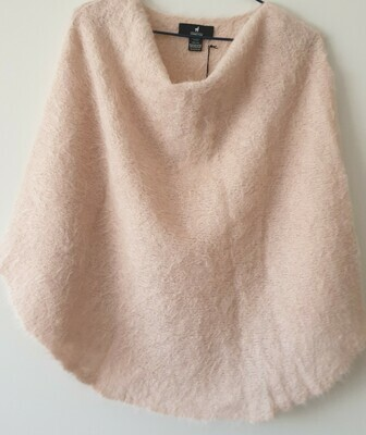 Poncho - Pink - One size