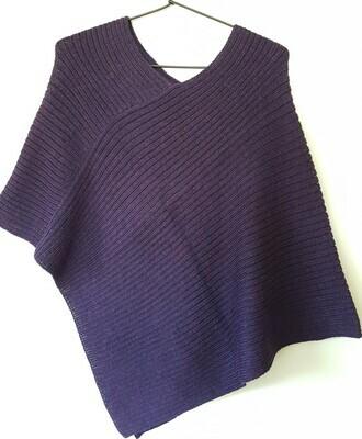 Vest - Purple Melange - One Size