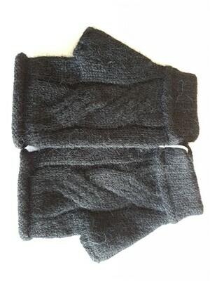 Gloves - Fingerless - Charcoal