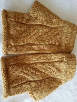Gloves - Fingerless - Mustard