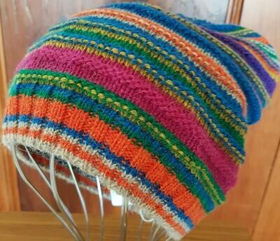 Beanie - Striped - Carruba