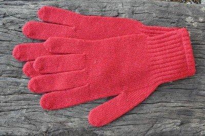 Gloves - Red - Medium