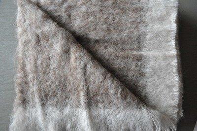 Brushed Knee Rug - Rose Grey