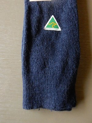 Sock - Knitted - Denim - Large