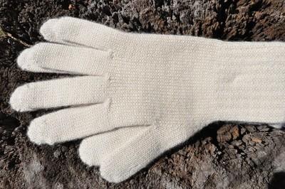Gloves - Ecru - Medium