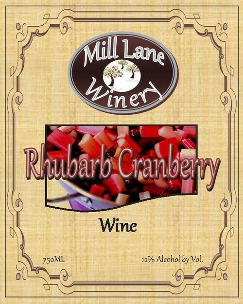 Rhubarb-Cranberry