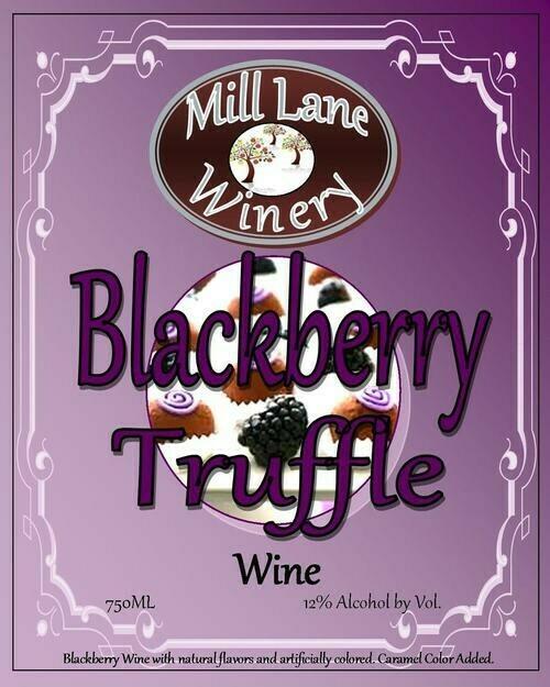 Blackberry Truffle