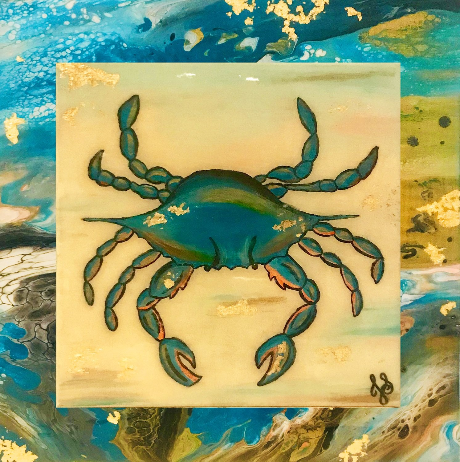 Blue Crab (Prints)